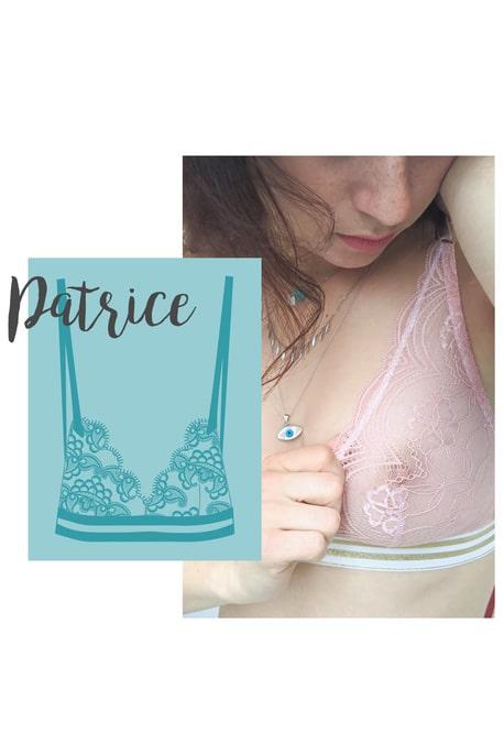 Soutien Gorge Patrice - Atelier Guillemette