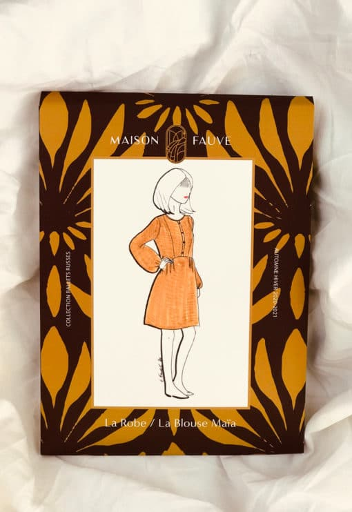 Robe / blouse Maia - Maison Fauve