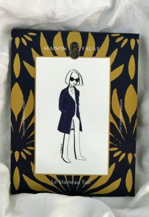 Patron Manteau Tsar - Maison Fauve