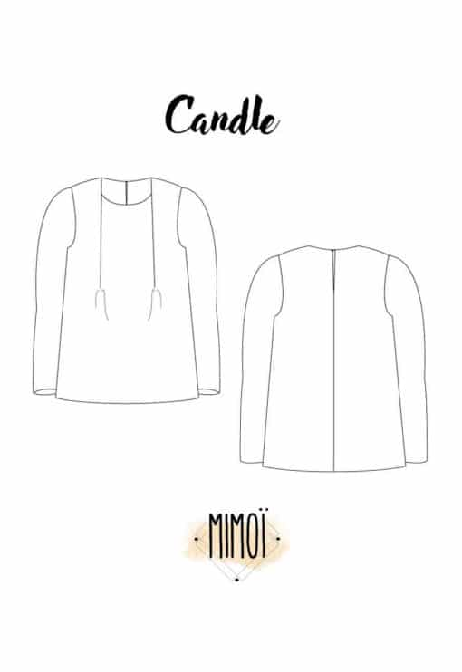 Patron Blouse Candle - Mimoi