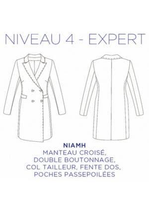 Patron Manteau Niamh - C'est Moi Le Patron