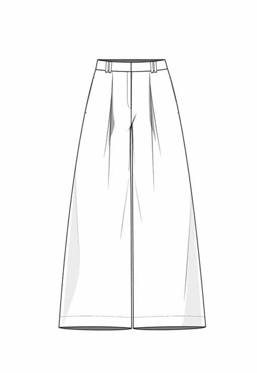 Patron Pantalon Max
