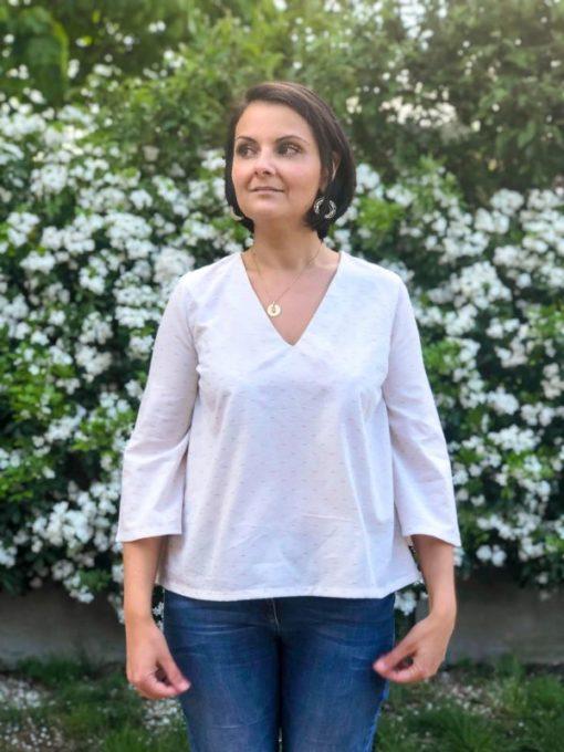 Patron Blouse Alet - Anne Kerdiles