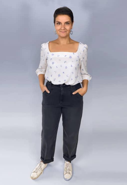 Patron Blouse Basic - Anne Kerdiles