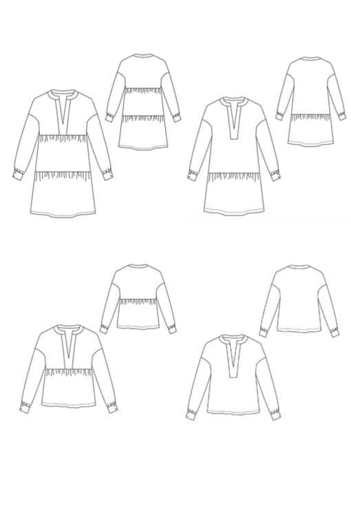 Robe Basic - Anne Kerdiles